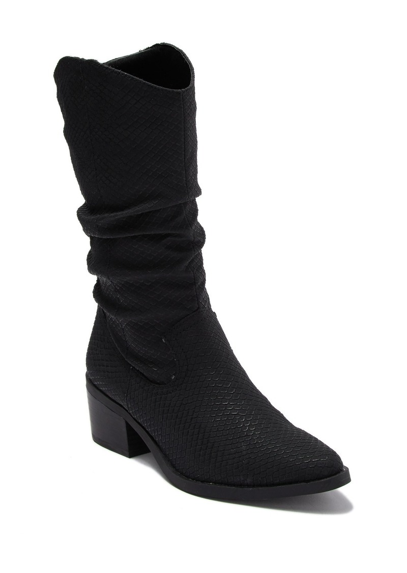 Report Zilpha Snakeskin Embossed Boot