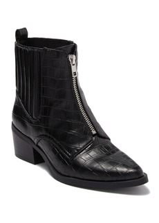 Report Zola Croc-Embossed Ankle Boot