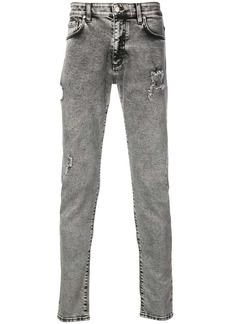 Represent acid grey skinny jeans