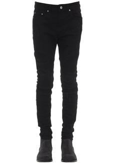 Represent Biker Cotton Blend Denim Jeans
