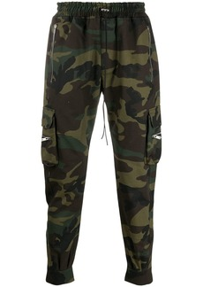 Represent camouflage print trousers