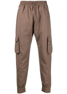 Represent tapered cargo trousers