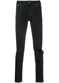 Represent Destroyer mid-rise skinny jeans