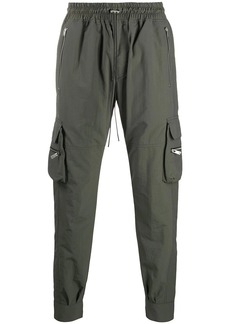 Represent elasticated cargo pants