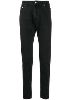 Represent high-waist straight leg jeans