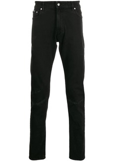 Represent low rise slim fit jeans