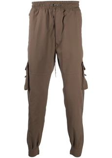 Represent multiple pockets tapered trousers