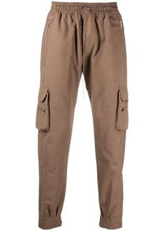 Represent pocket-detail panelled track pants