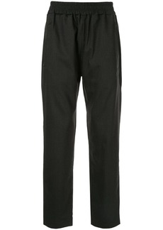 Represent relaxed trousers
