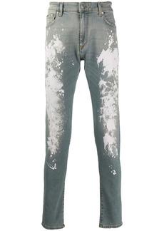 Represent slim painter jeans