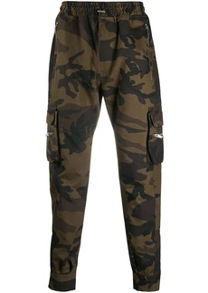 Represent tapered camo trousers