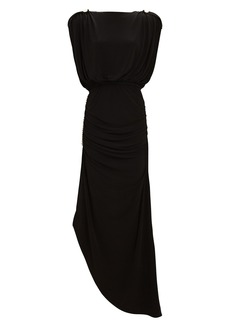 Retrofête Florence Chain-Embellished Maxi Dress