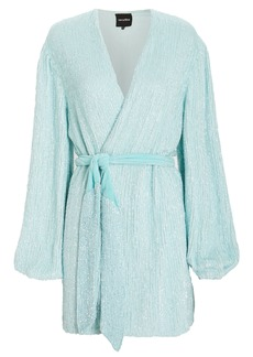 Retrofête Gabrielle Sequin Mini Dress