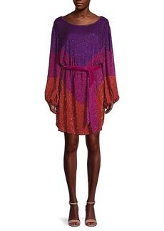 Retrofête Grace Colorblock Sweater Dress