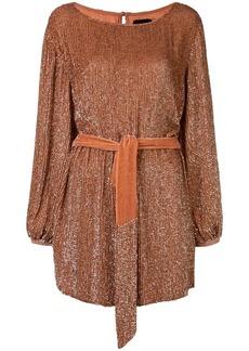 Retrofête Grace squined mini dress