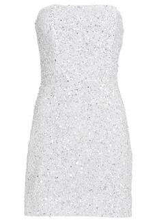 Retrofête Heather Strapless Sequin Dress