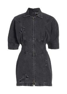 Retrofête Miley Zip Denim Dress