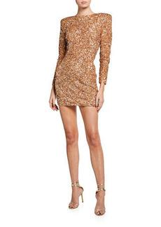 Retrofête Nikki Mini Sequin Dress