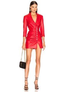 Retrofête retrofete Willa Leather Dress
