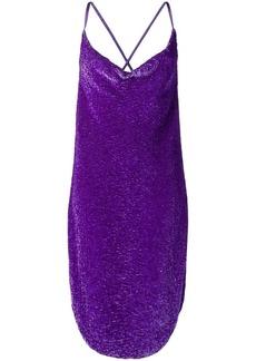 Retrofête sequined slip dress