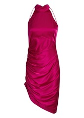 Retrofête Sydney Silk Halter Dress
