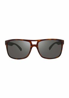 Revo Holsby Style and Performance Polarized Sunglasses RE1019 Matte Dark Tortoise  mm