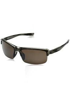 Revo RE 4041X Abyss Wraparound Polarized Wrap Sunglasses Brown Terra  mm
