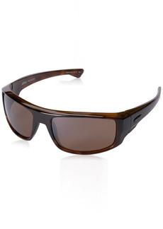 Revo Unisex RE 5006X Dash Wraparound Polarized UV Protection Sunglasses Wrap  Terra Lens