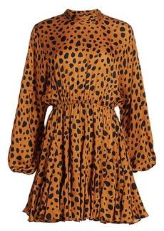 Rhode Caroline Cheetah Print Dress