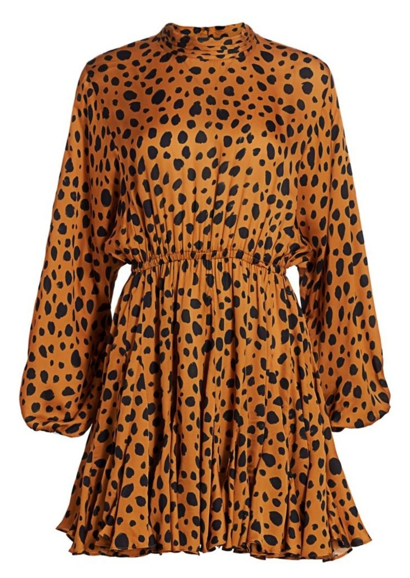 Caroline Cheetah Print Dress