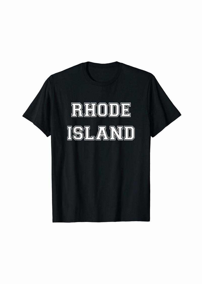 College University style Rhode Island Sport Gift T-Shirt