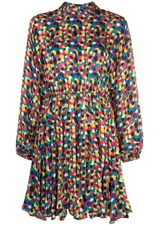 Rhode confetti-print A-line dress