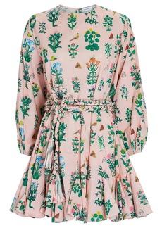 Rhode Ella Floral Poplin Mini Dress