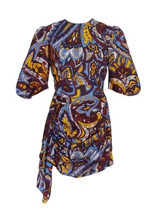 Rhode Pia Paisley Mini Dress