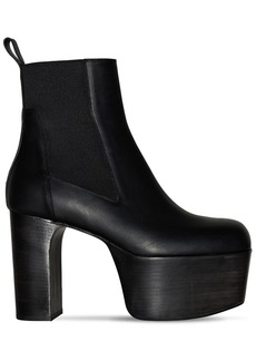 Rick Owens 125mm Pleatau Leather Boots