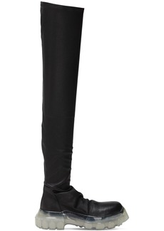 Rick Owens 40mm Bozo Tractor Over-the-knee Boots