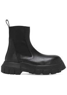 Rick Owens 40mm Tractor Leather Beatle Boots