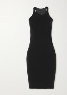Rick Owens Abito Cotton-jersey Mini Dress