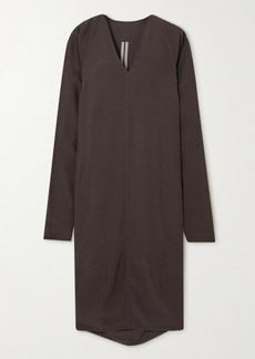 Rick Owens Abito Crepe Midi Dress