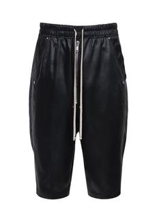 Rick Owens Acetate & Nylon Pods Shorts