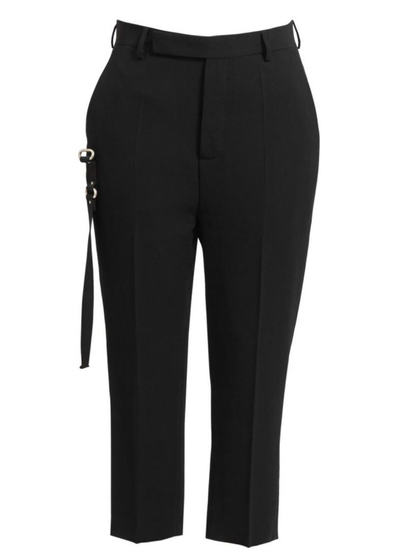 Rick Owens Astaires Easy Wool Trousers