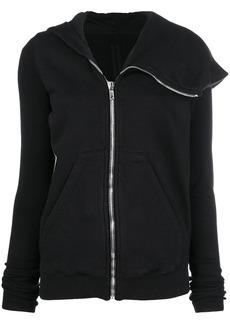 Rick Owens asymmetric full-zip hoodie