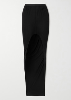 Rick Owens Asymmetric Jersey Skirt