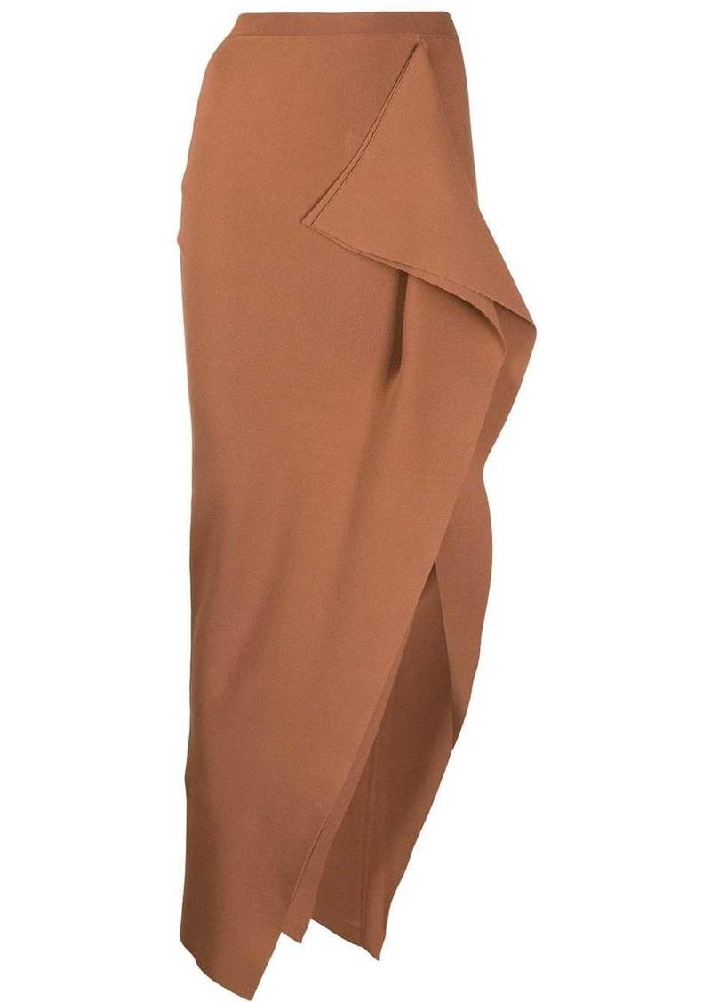 Rick Owens asymmetric long skirt