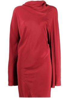 Rick Owens asymmetric mini dress
