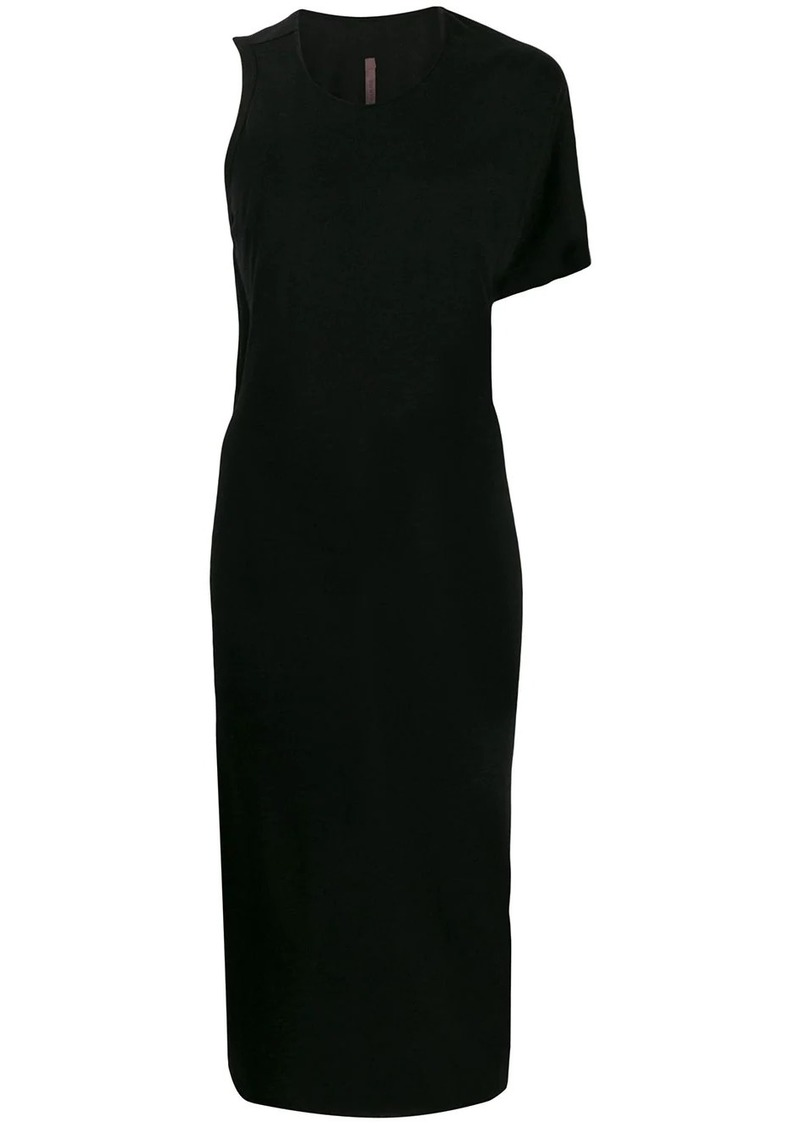 Rick Owens asymmetric one-sleeve dress