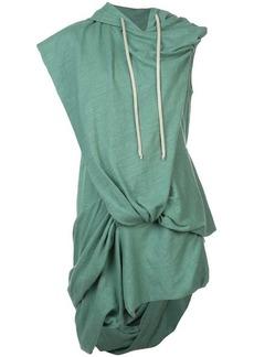 Rick Owens asymmetric oversized hoodie
