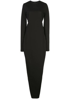 Rick Owens backless shift dress