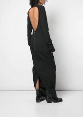 Rick Owens backless shift dress