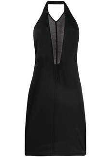 Rick Owens backless short dress